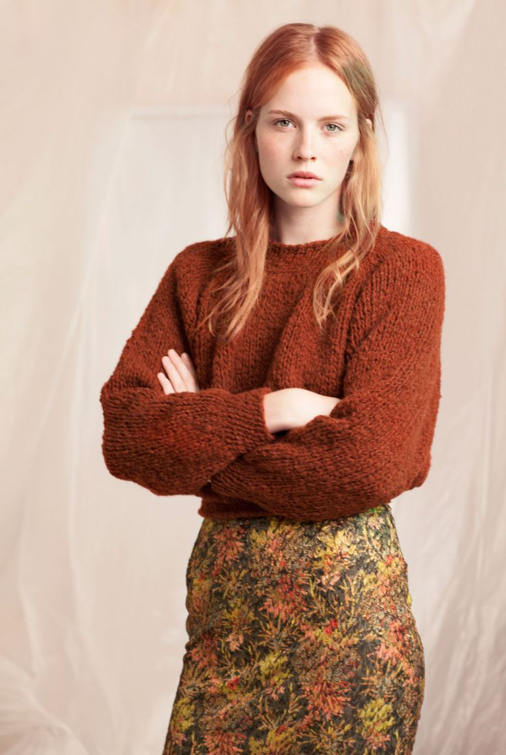 Arak sweater and Garden skirt