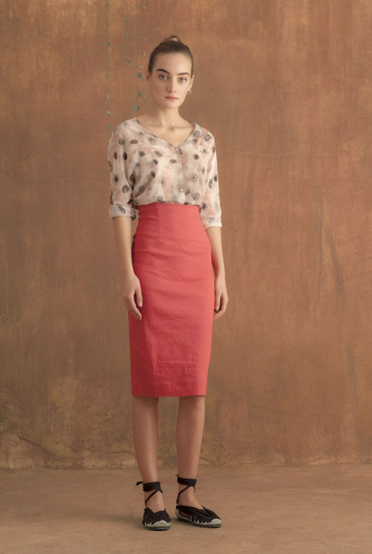 Circle top with Marisol skirt