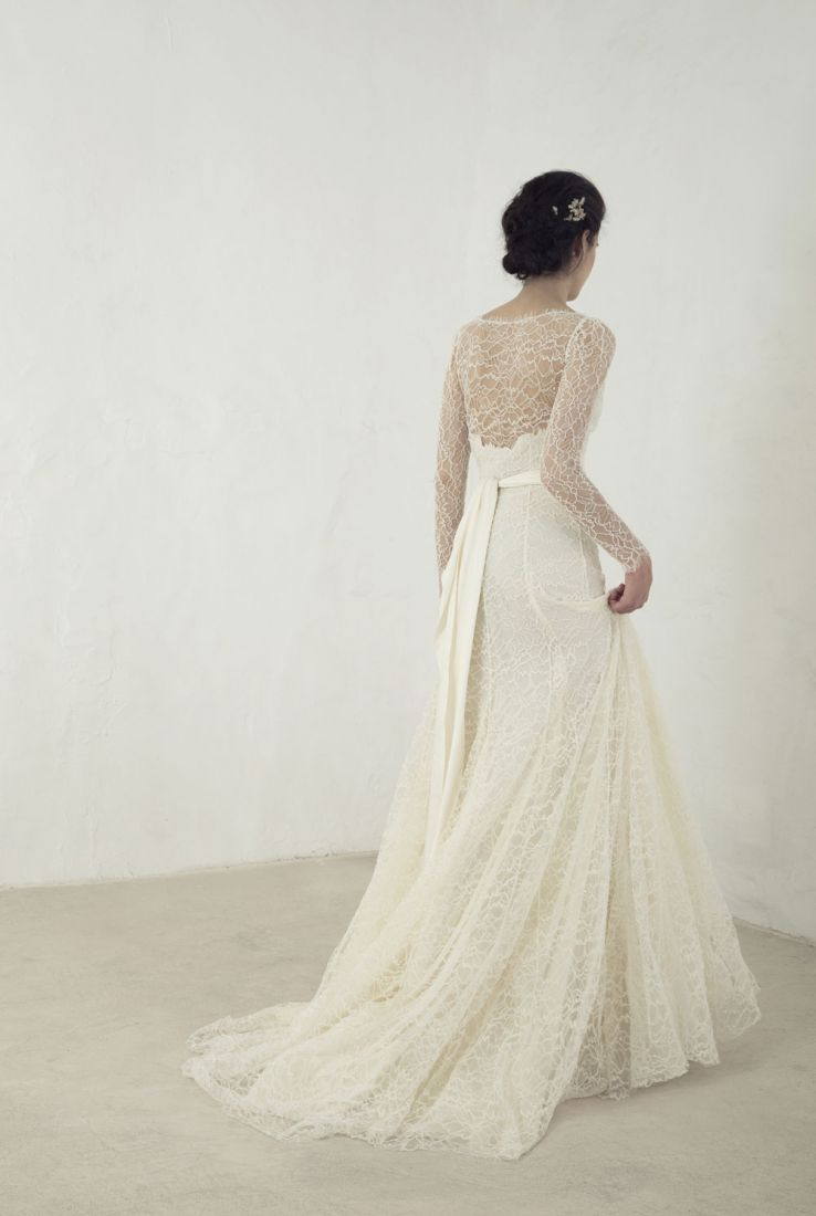 Citrino bridal gown