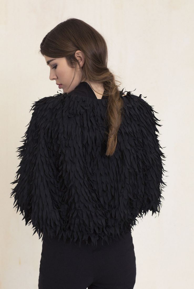 Hair jacket with Pam pants