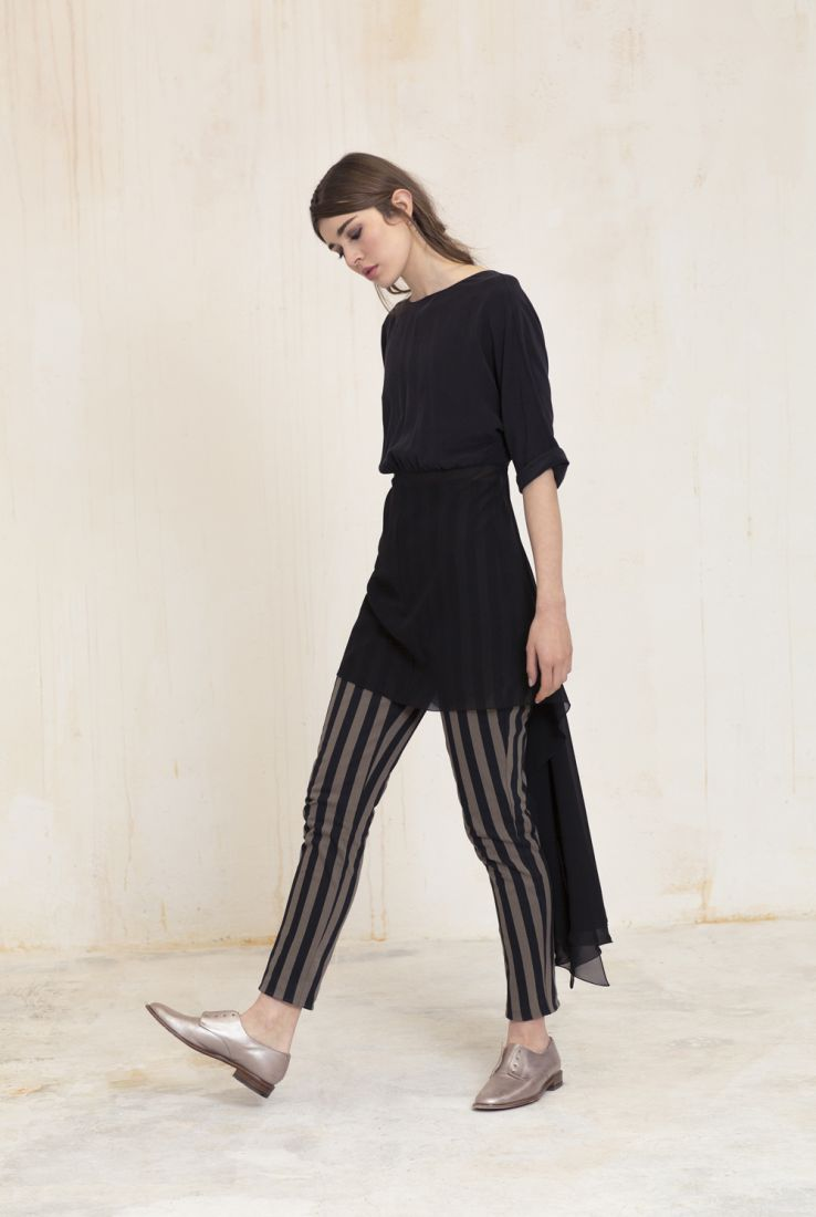 Mistery top and Rayas trousers