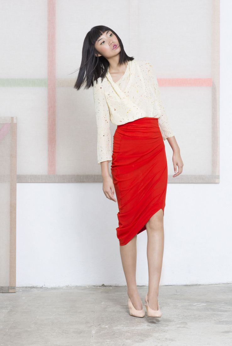 Jackson blouse and Lollypop skirt