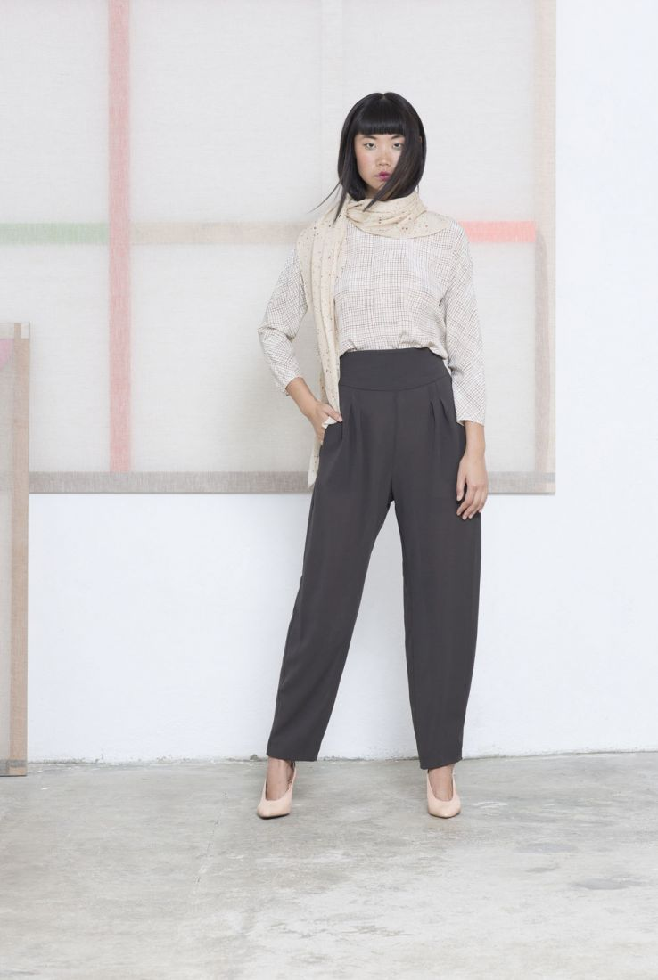 Cuadro top and Tonge trousers