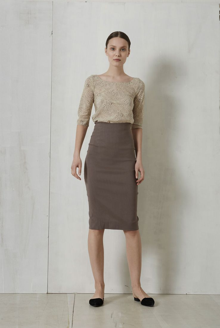 Jira top with Marisol skirt