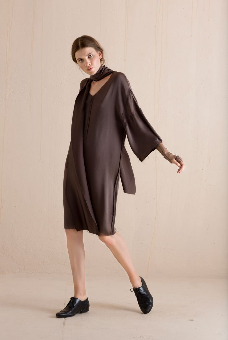 Hassan silk dress