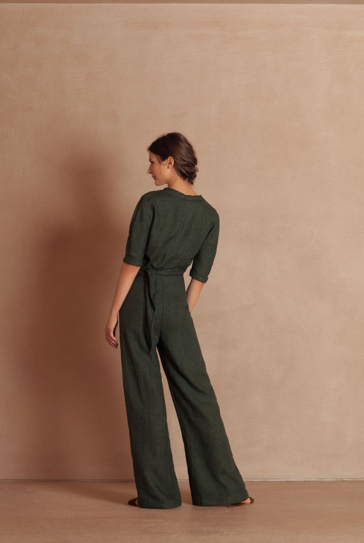 Comando jumpsuit in green