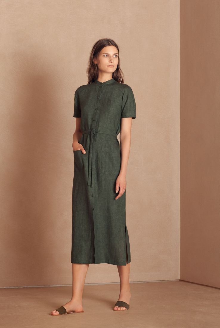 Mando shirt dress