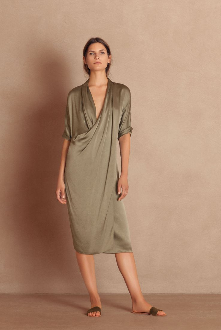 Hay loose fit silk dress