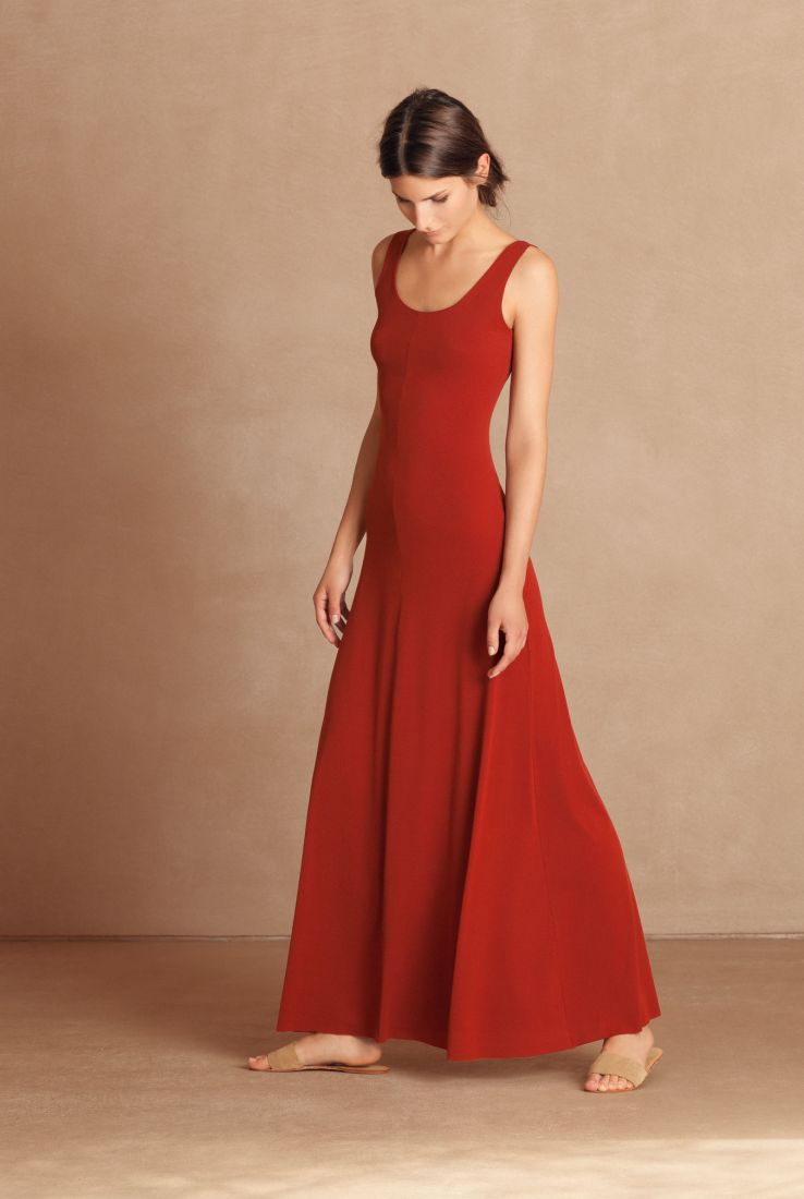 Vein long dress