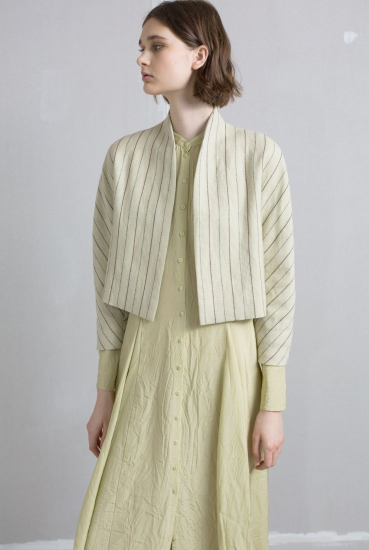 Kassar jacket with Bisbe dress