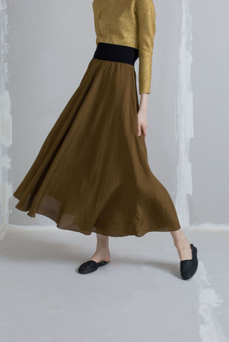 Kika brown skirt