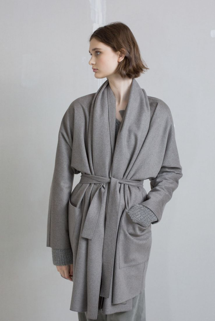 Wanda wool coat, AW18 collection – Cortana Moda