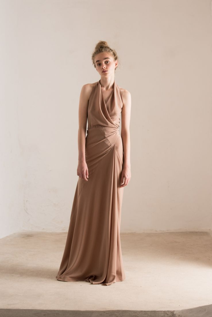 Cairo organic silk dress