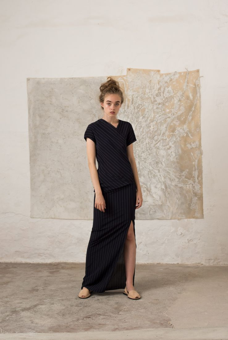 Corsica long dress