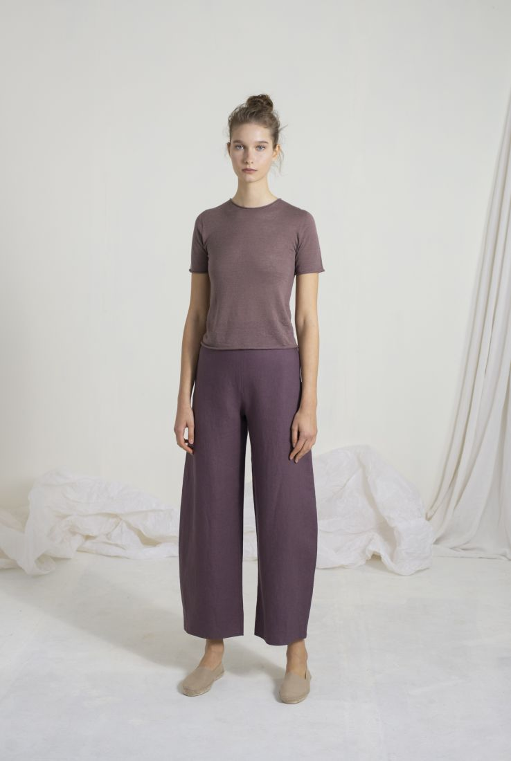 ACAI MAUVE TOP AND SOL PANTS