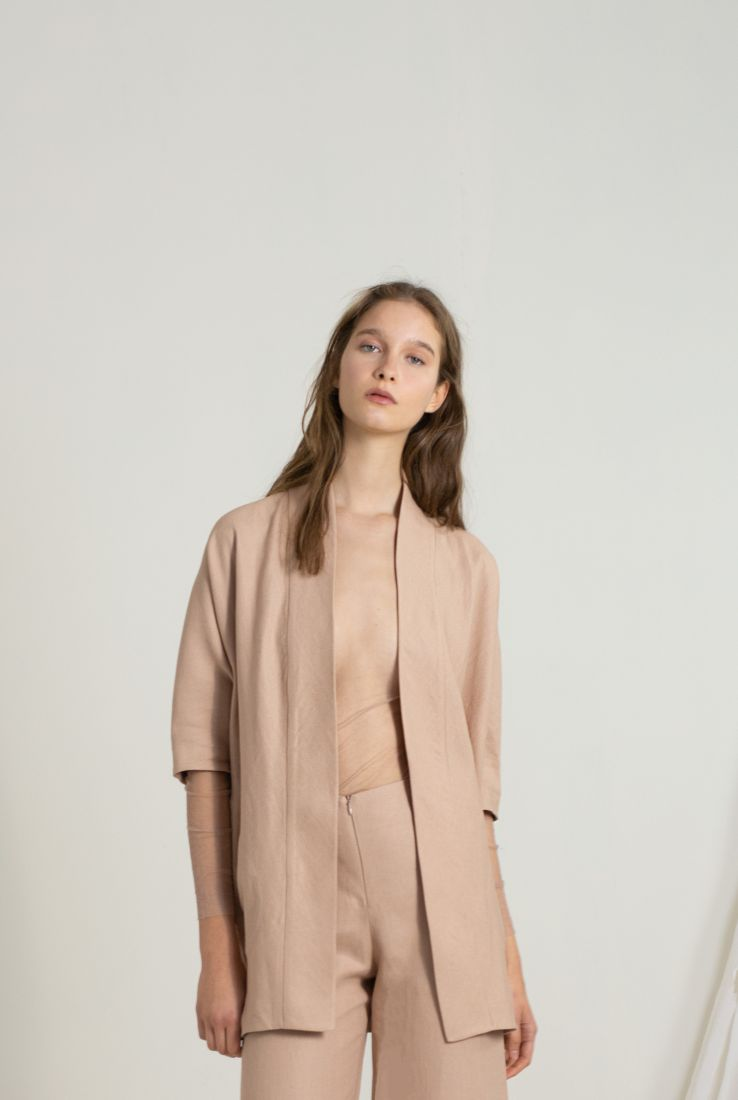 RABAT LINEN JACKET, JACKETS / COATS collection – Cortana Moda