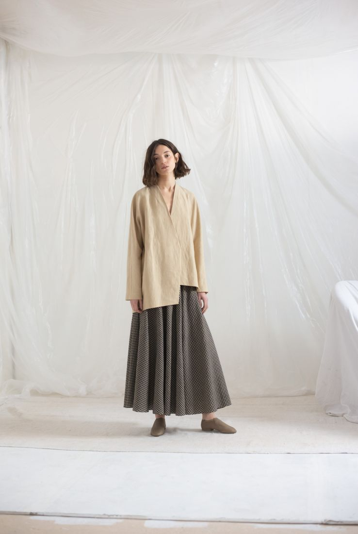 Dry jacket with Spechio skirt