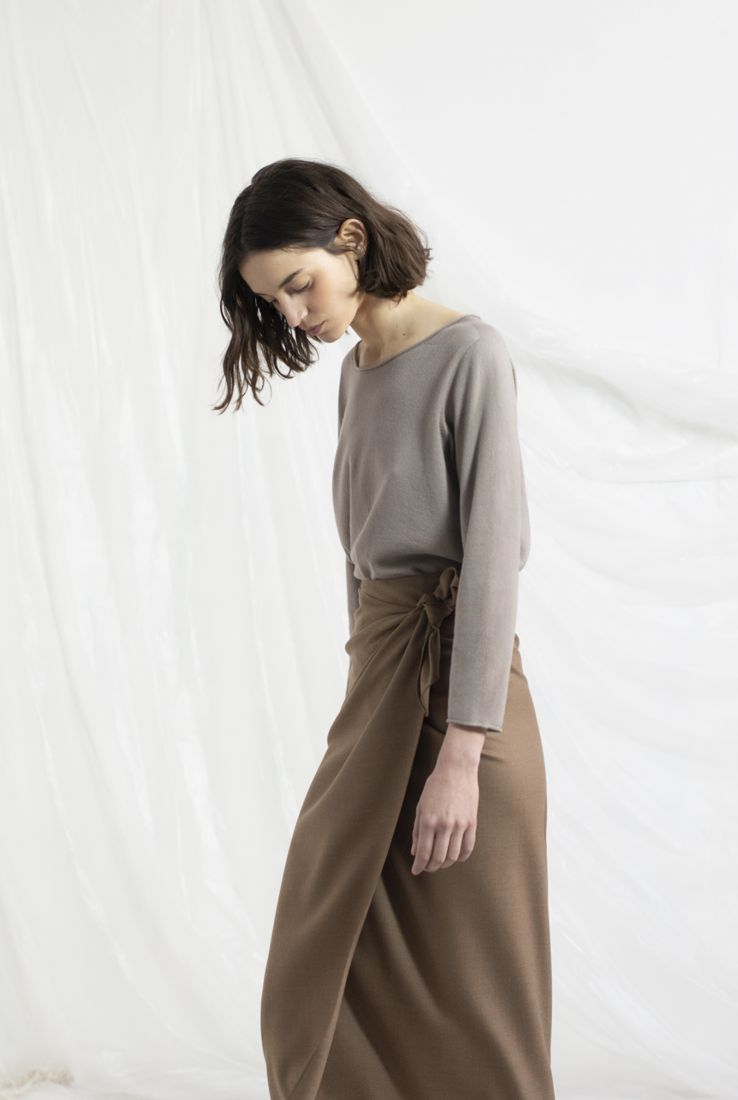 BRISA, VISON CASHMERE SWEATER, AW19 collection – Cortana Moda