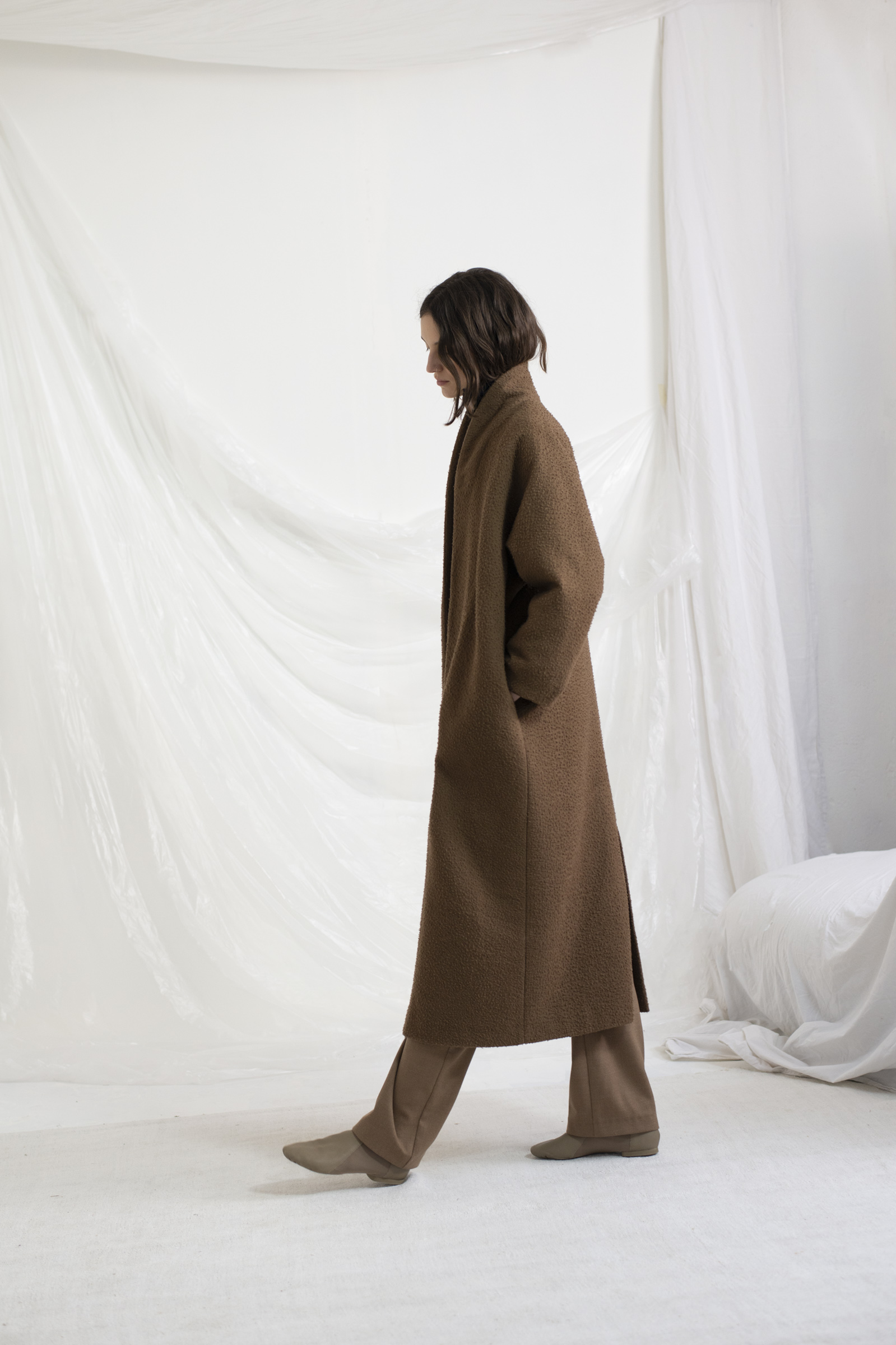 PERRO, LONG OVERSIZE COAT - Cortana
