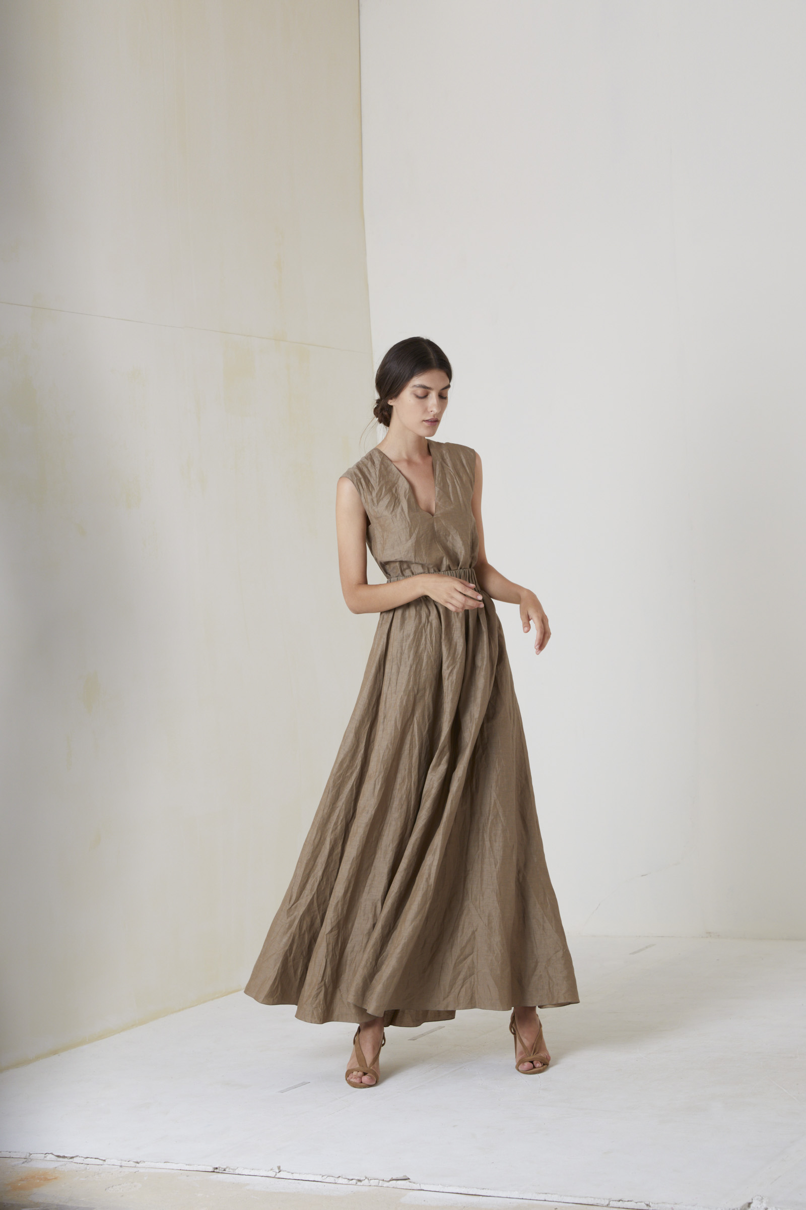 PIRANDELLO, LONG MOCHA SKIRT - Cortana