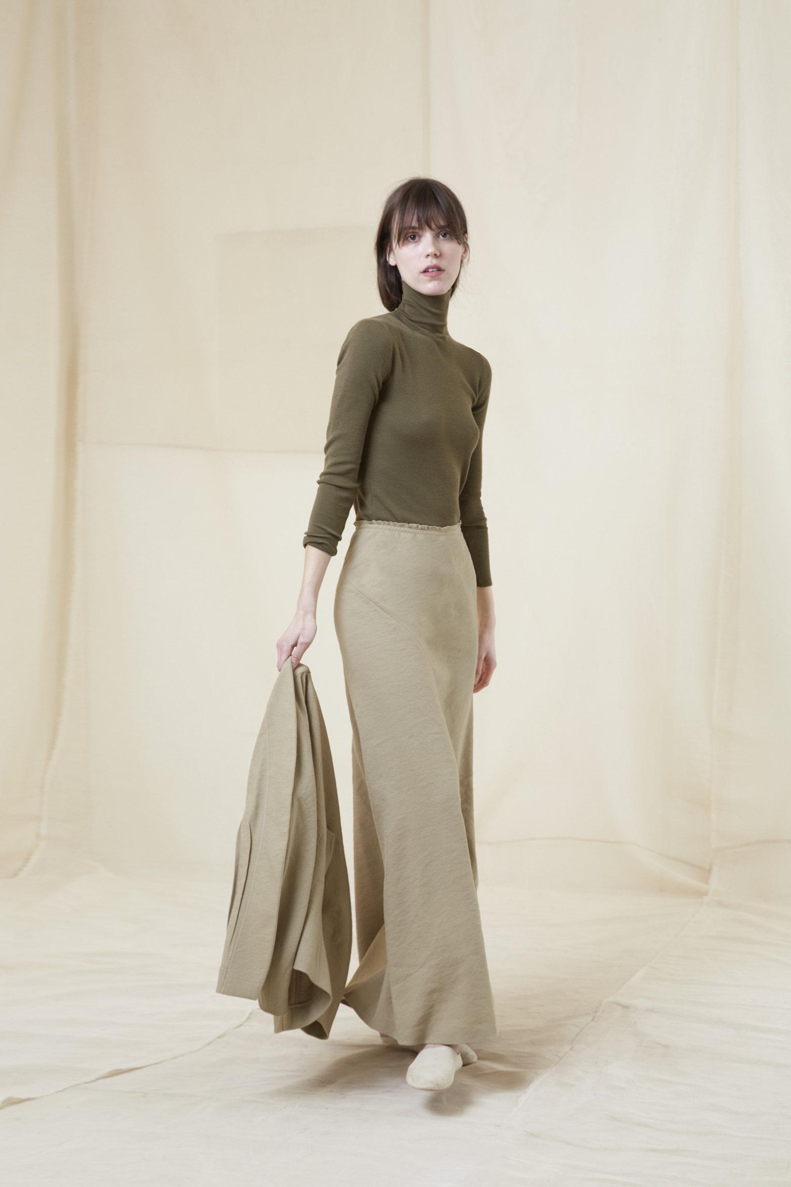 ARTO BEIGE SKIRT - Cortana