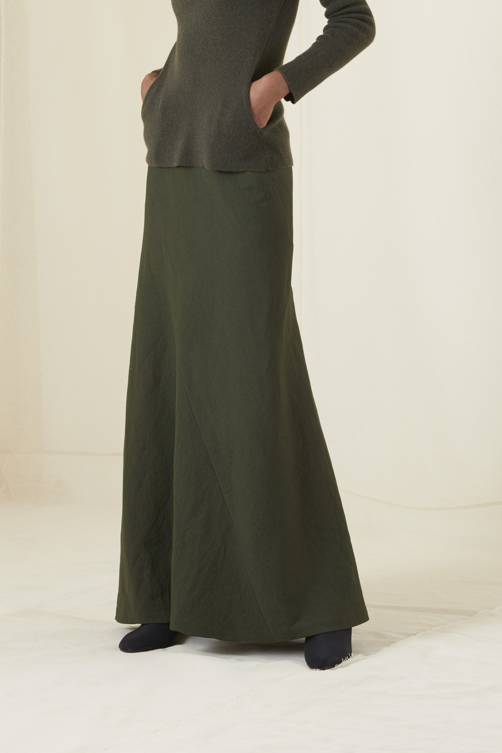 ARTO GREEN SKIRT - Cortana