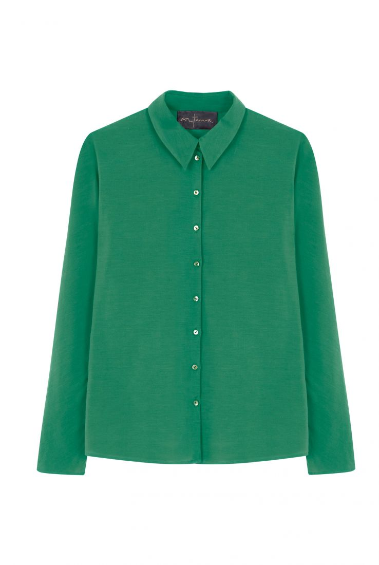 FUJI PRADERA GREEN TOP - Cortana Moda
