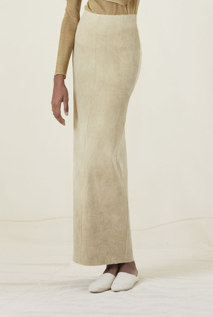 H, SAND SKIRT, AW20 collection – Cortana Moda