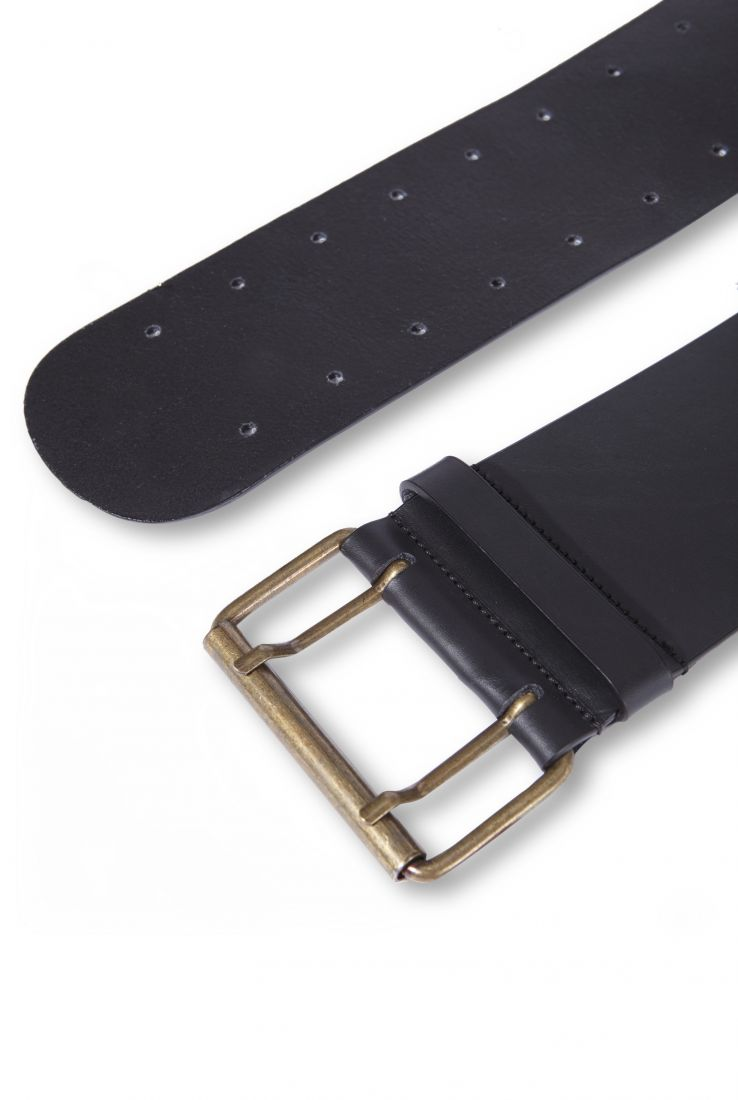 LEATHER THICK BELT, ACCESORIES collection – Cortana Moda