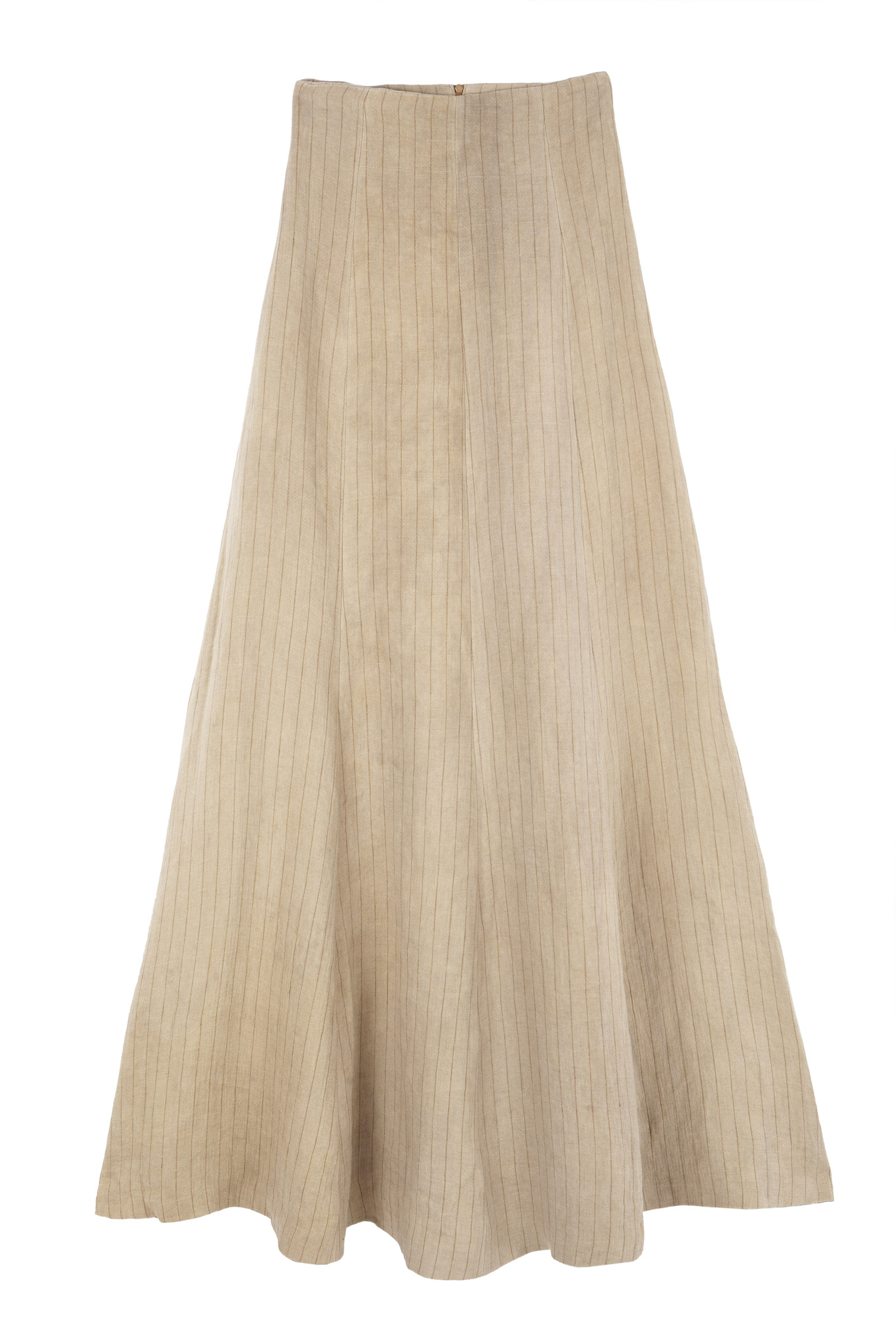 PAJA, STRIPED LINEN SKIRT - Cortana Moda