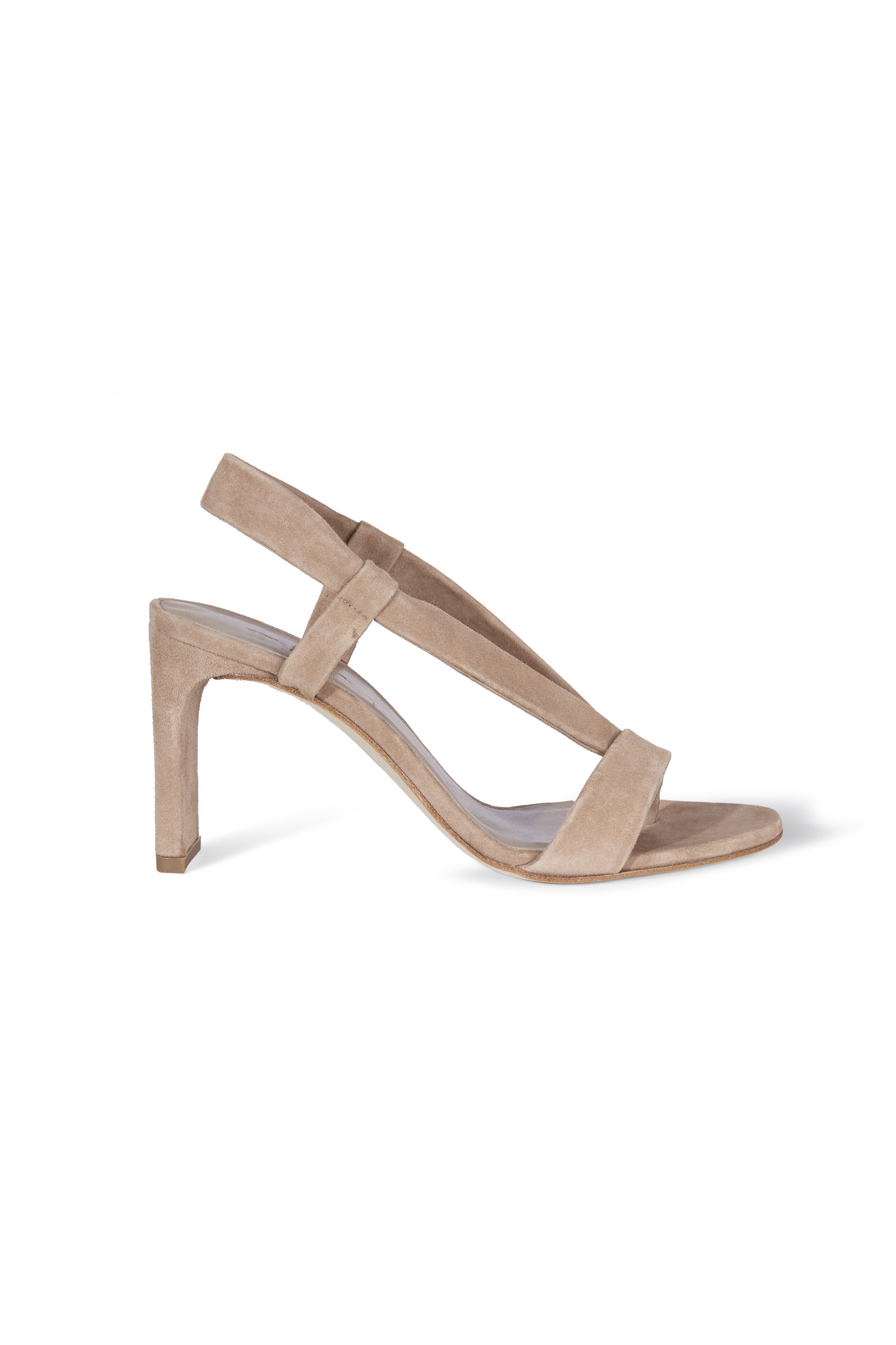 DIANA, SUEDE HIGH-HEELED SANDALS - Cortana Moda