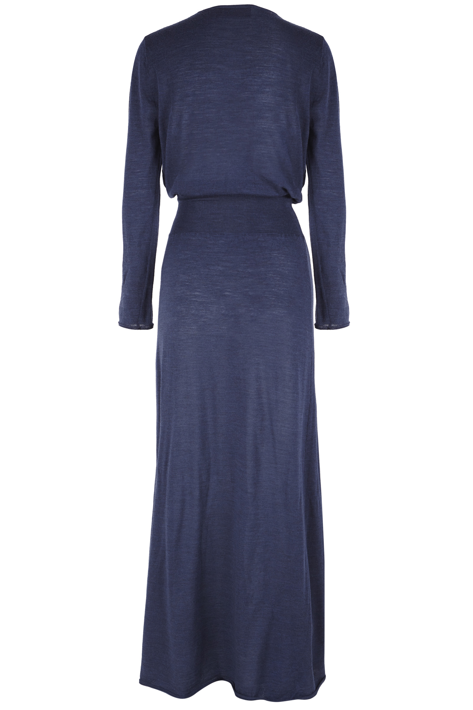 SINTRA, BLUE MERINO WOOL DRESS - Cortana