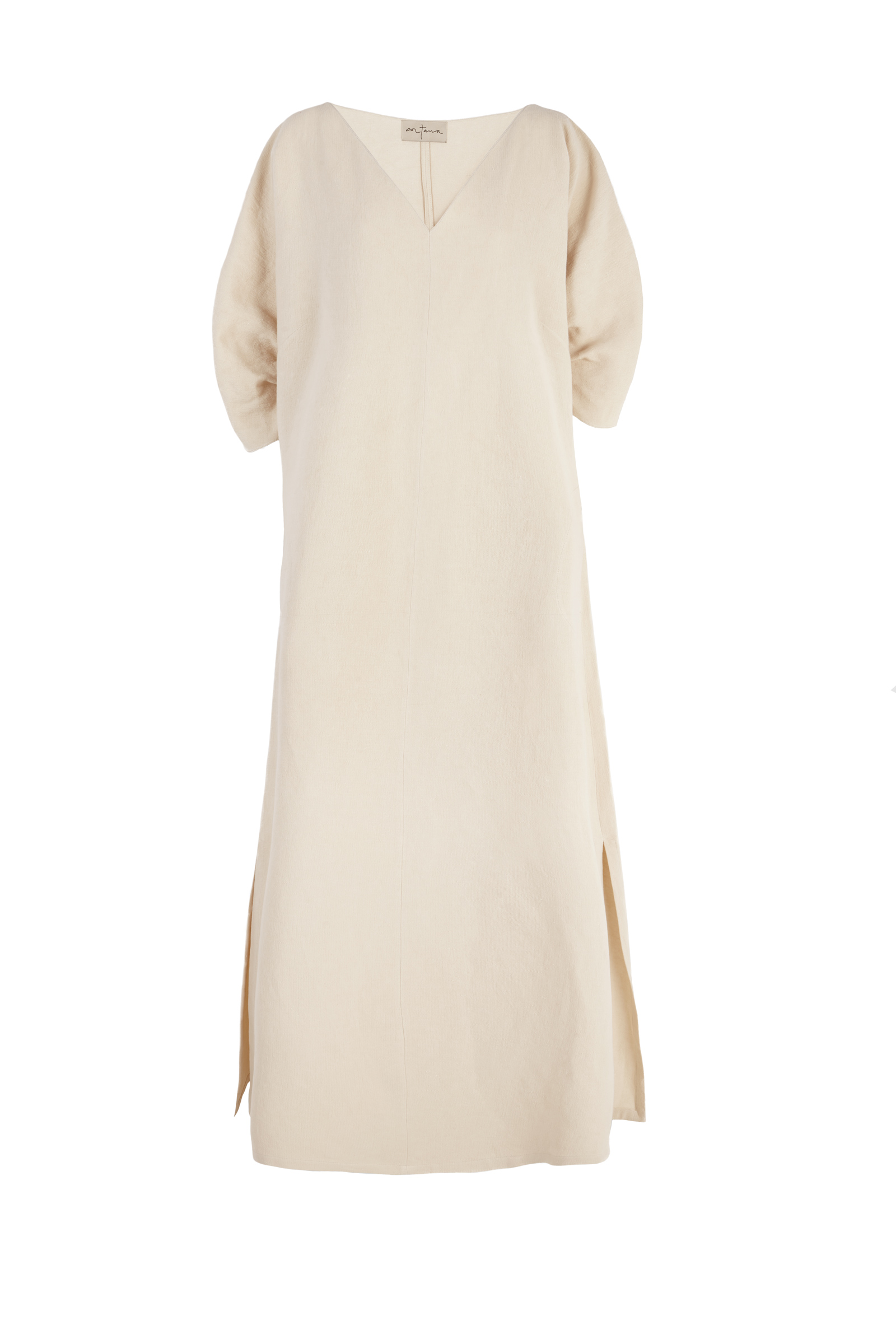CENIT BEIGE TUNIC DRESS - Cortana Moda