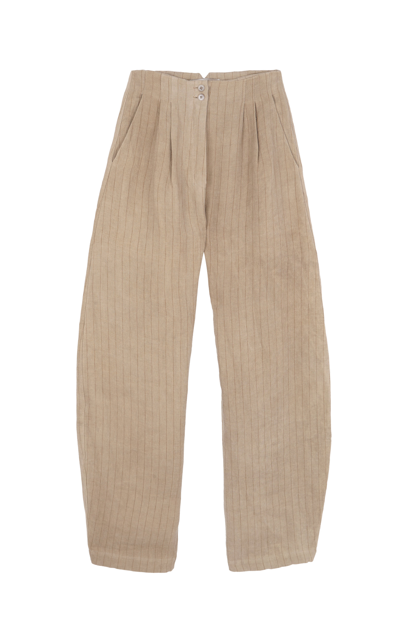 PAJA, STRIPED LINEN PANTS - Cortana Moda