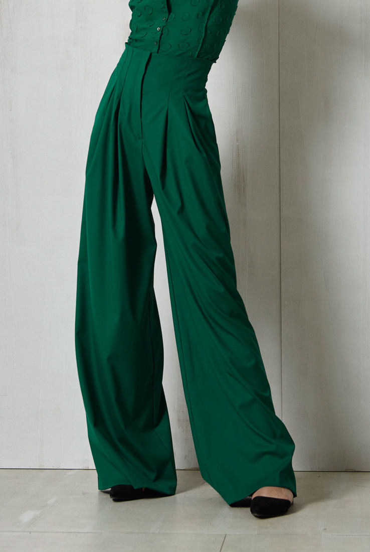 Pantalón Otro verde, Pantalones collection – Cortana Moda