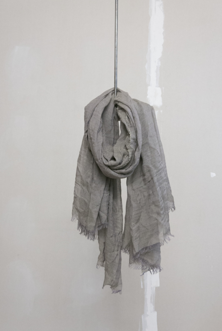 Foulard Giuseppe gris, Accesorios collection – Cortana Moda