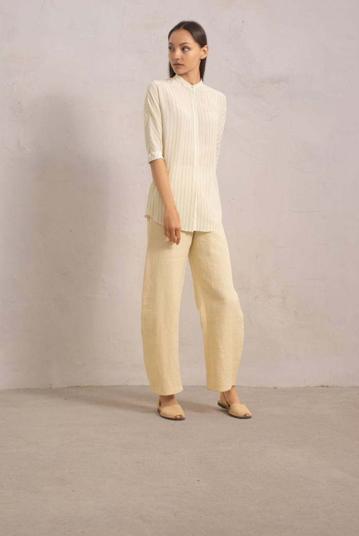 Solar pantalón beige, PANTALONES collection – Cortana Moda