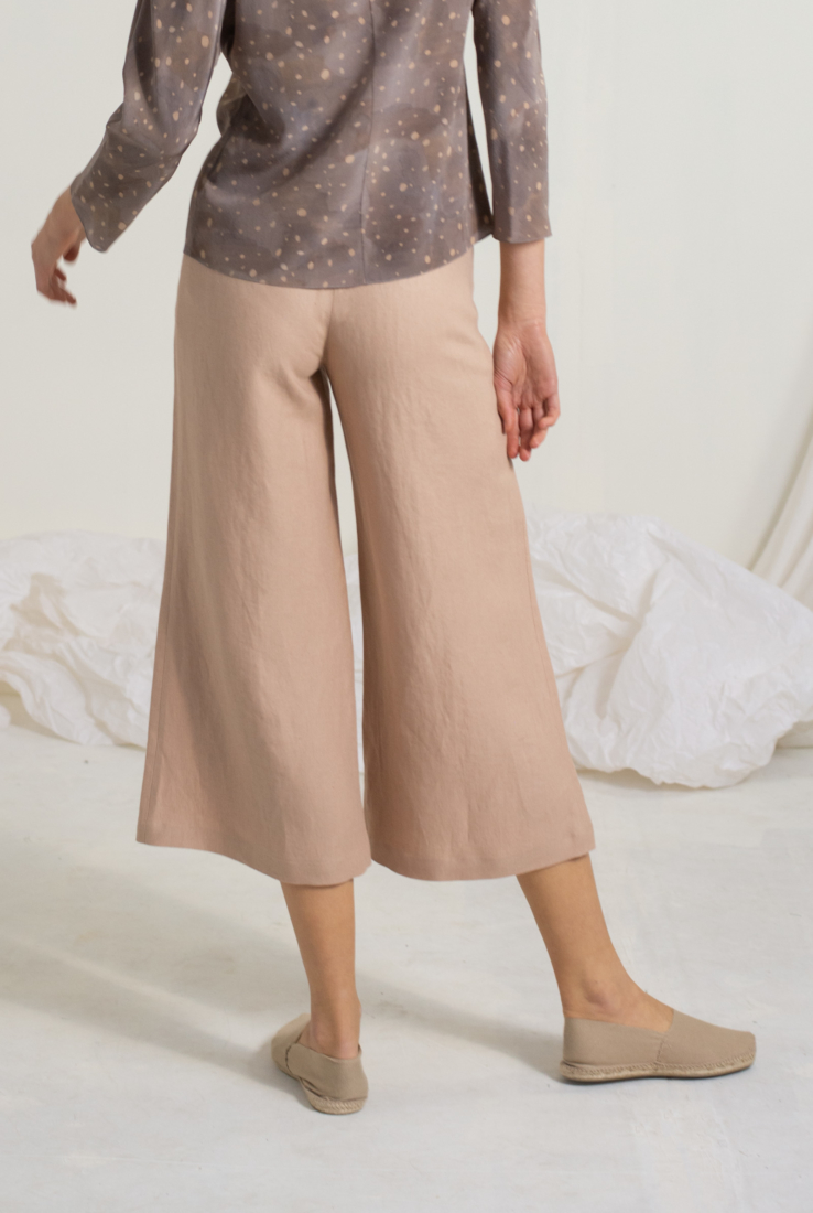 PANTALÓN WIND COLOR MAKE UP, nude collection – Cortana Moda
