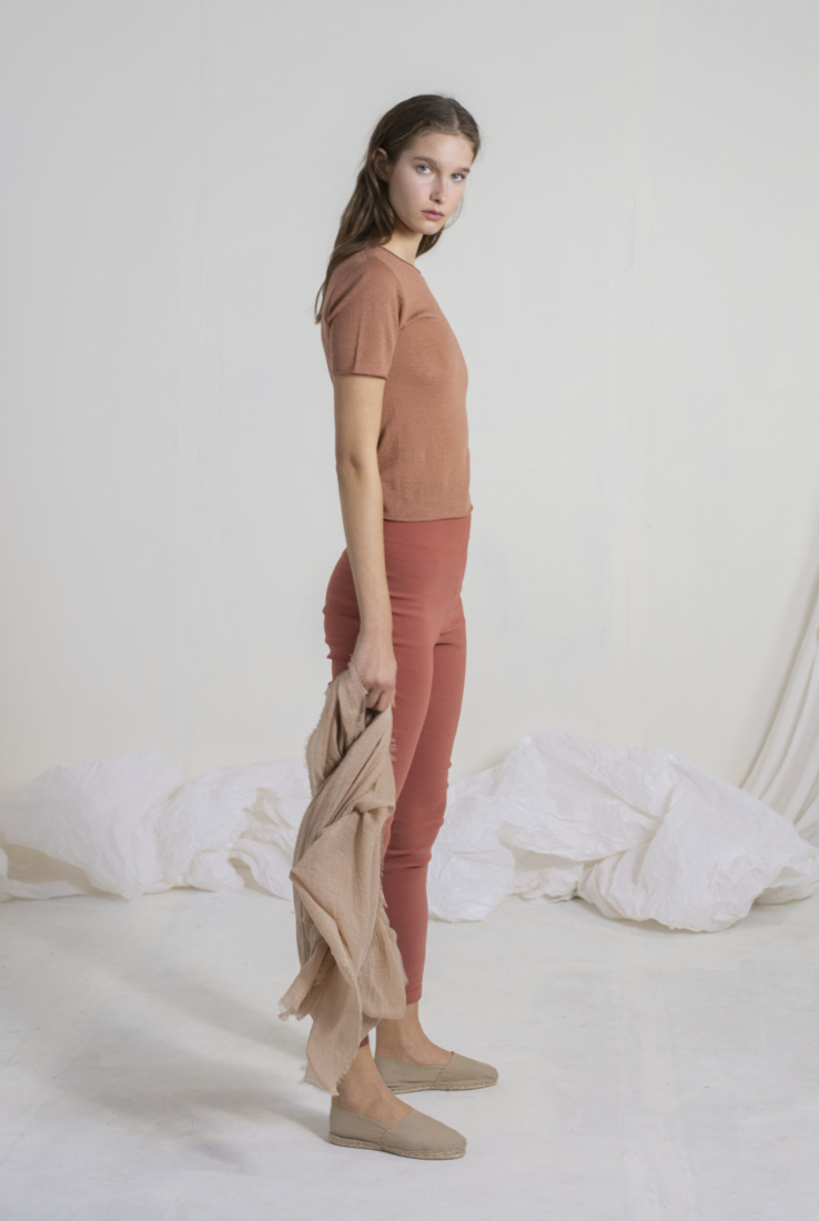 ACAI, TOP DE PUNTO SALMON, SS19 collection – Cortana Moda