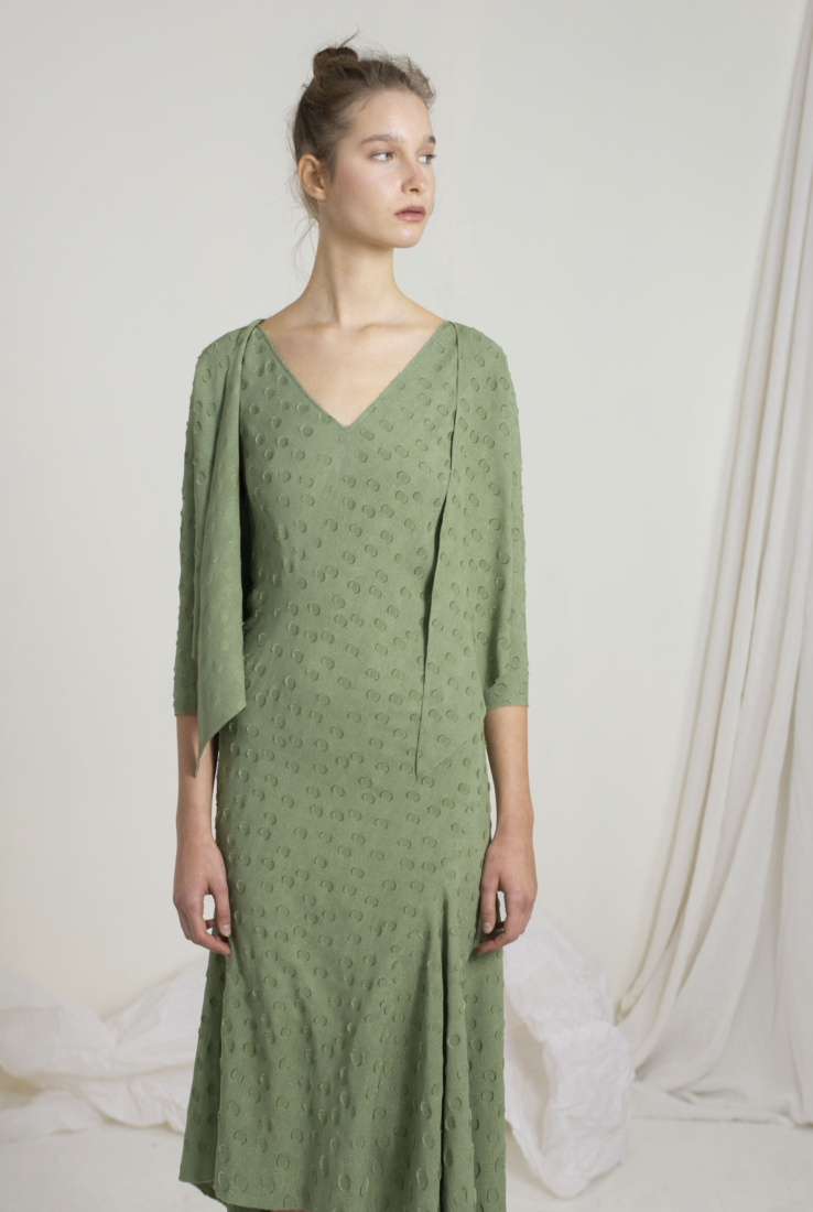 ROSARIO, CHAQUETA VERDE, SS19 collection – Cortana Moda