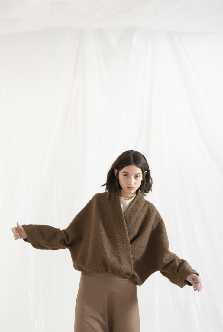 MILU, CHAQUETA CRUZADA OVERSIZED, AW19 collection – Cortana Moda