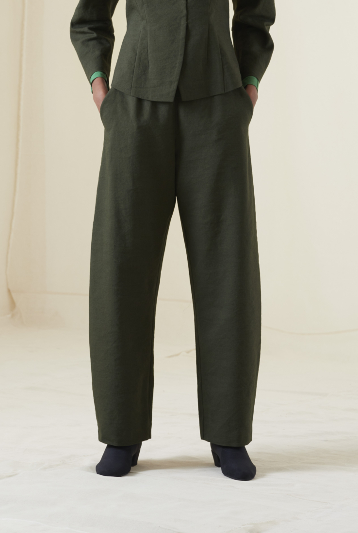 ARTO, PANTALÓN VERDE, AW20 collection – Cortana Moda