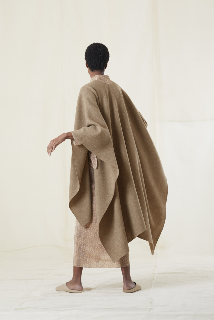 PONCHO MERINO CAPPUCCINO, AW20 collection – Cortana Moda