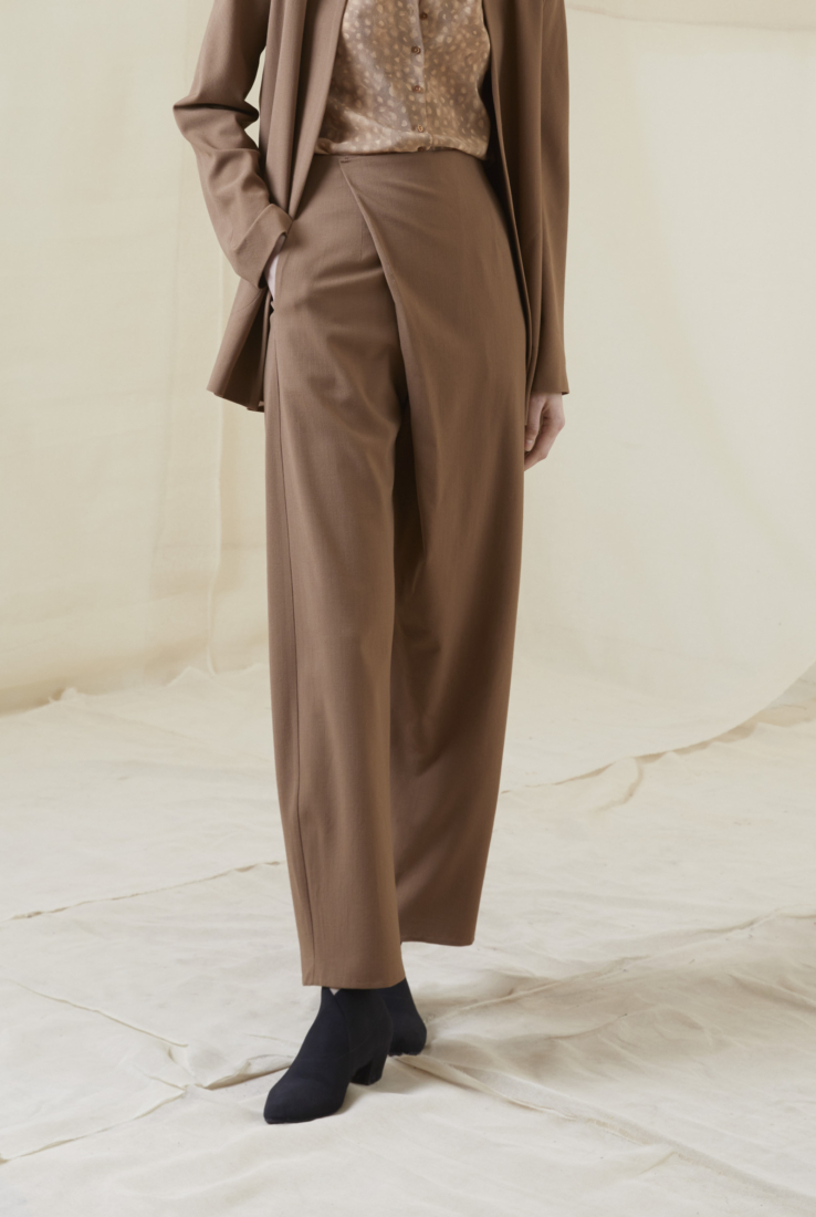 SABLE, PANTALÓN COLOR CUIRE, AW20 collection – Cortana Moda