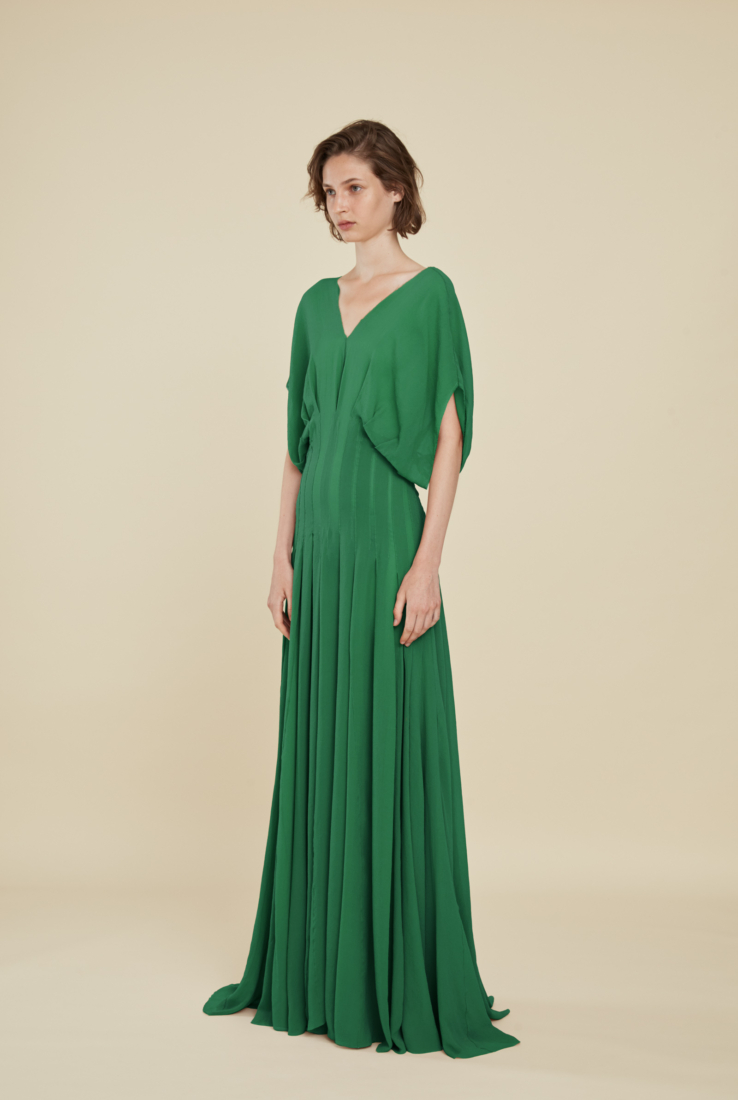 ALBA, VESTIDO LARGO VERDE, ESHOP collection – Cortana Moda