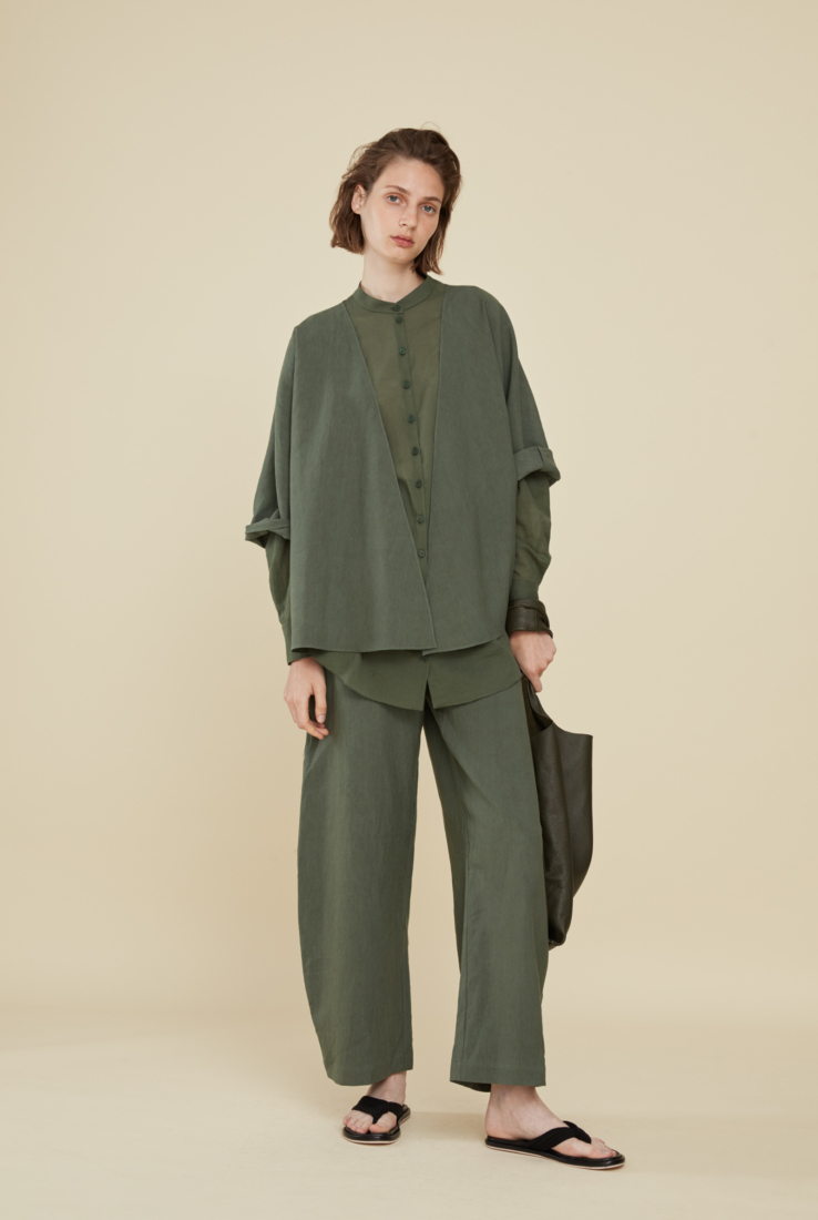 MOOH, PANTALÓN VERDE, ESHOP collection – Cortana Moda