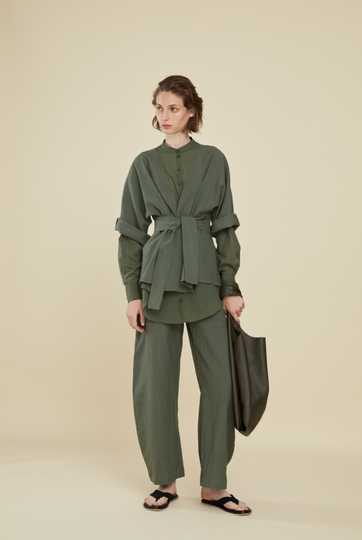 MOOH, CHAQUETA VERDE, SS21 collection – Cortana Moda