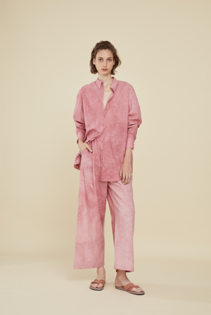 ROSE, PANTALÓN EN ALGODÓN, SS21 collection – Cortana Moda